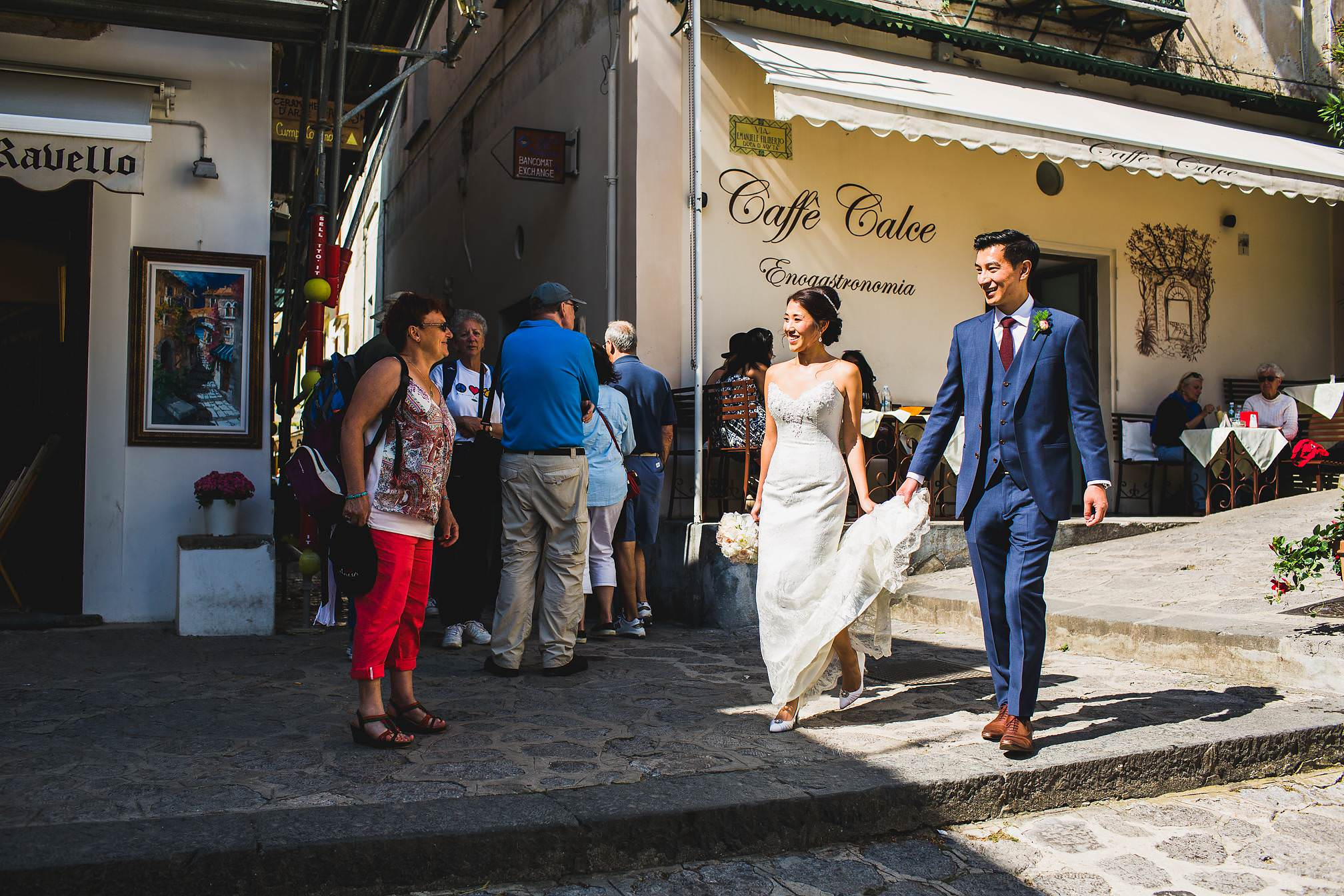 Caffe Calce Ravello, Wedding Picture