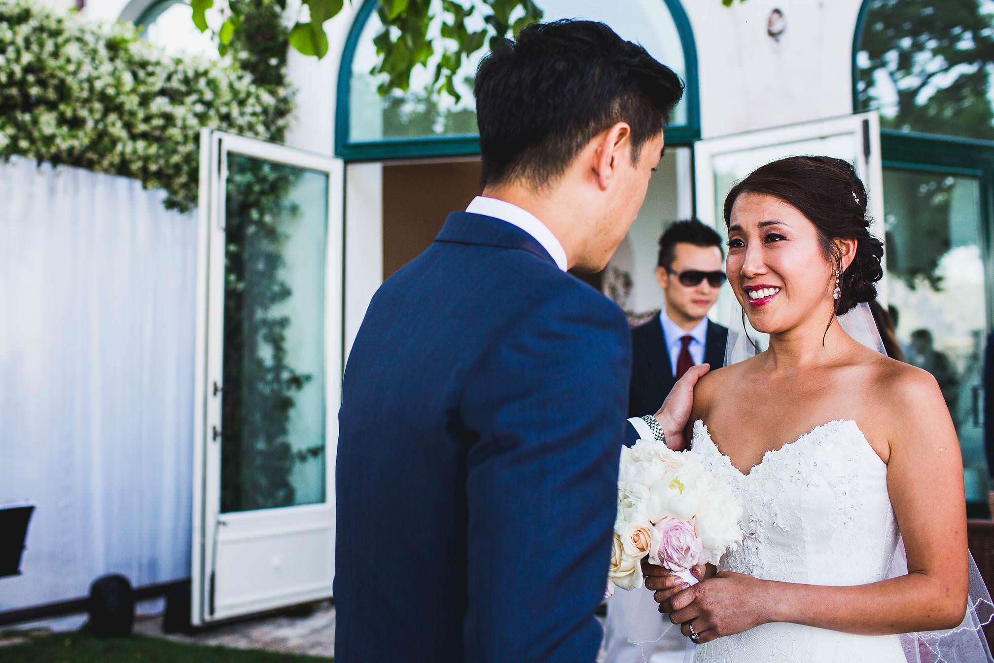Chinese Wedding Ceremony in Italy