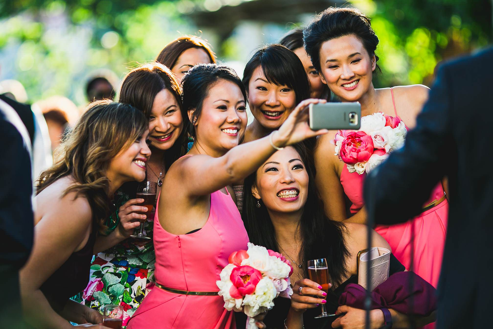 Huge Wedding Selfie