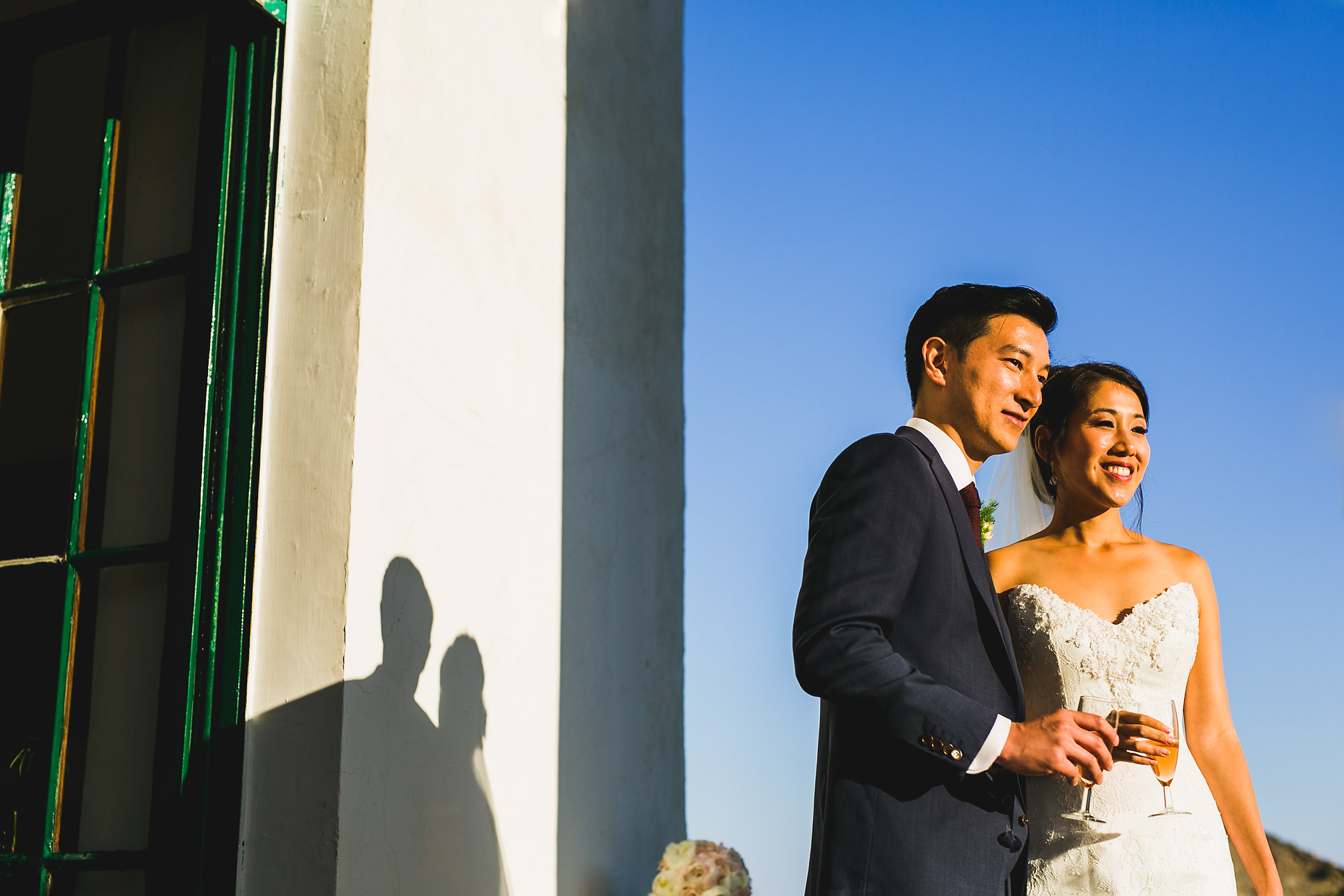 Couples Portrait during Golden Hour, Amalfi Coast