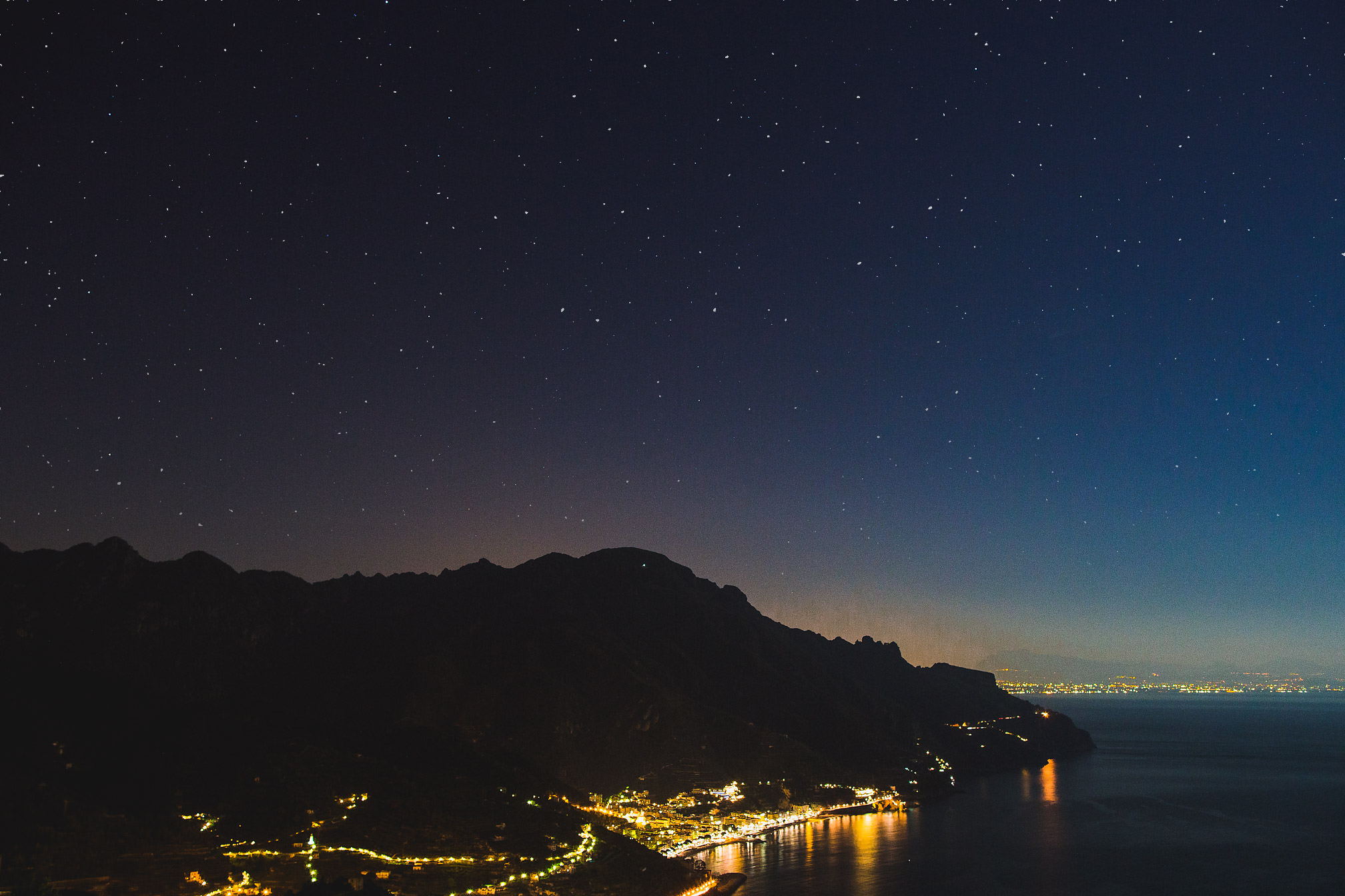 Ravello at night