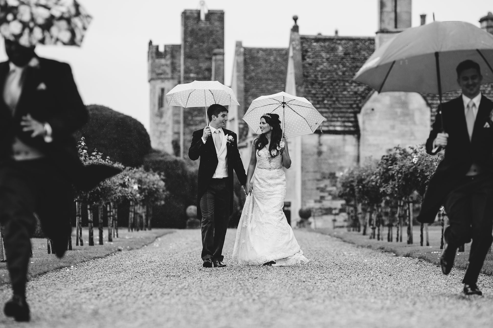 Rainy portrait at Rockingham Castle, Corby
