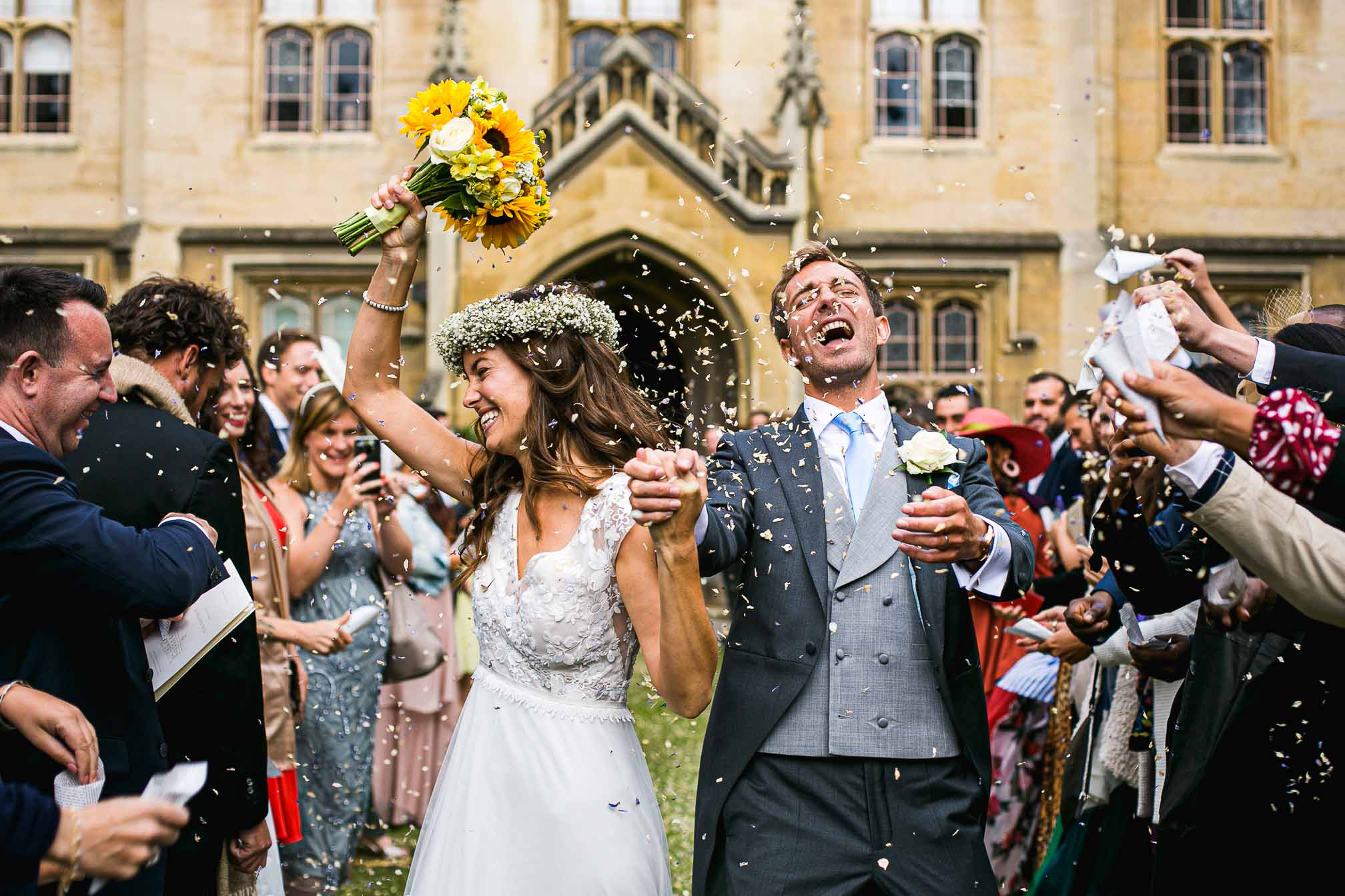 Sidney Sussex Confetti Shot