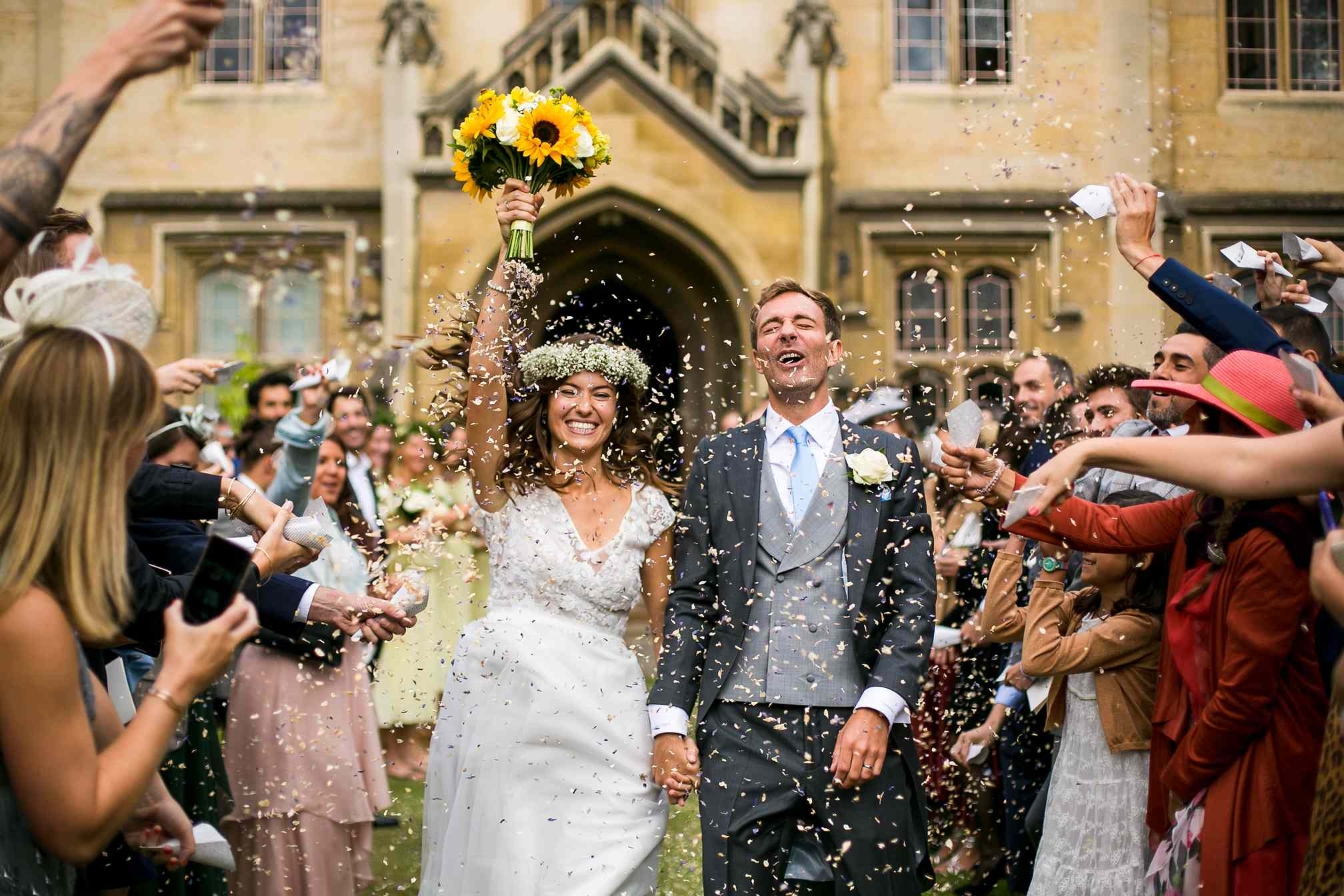 Sidney Sussex, Cambridge, Wedding Photography