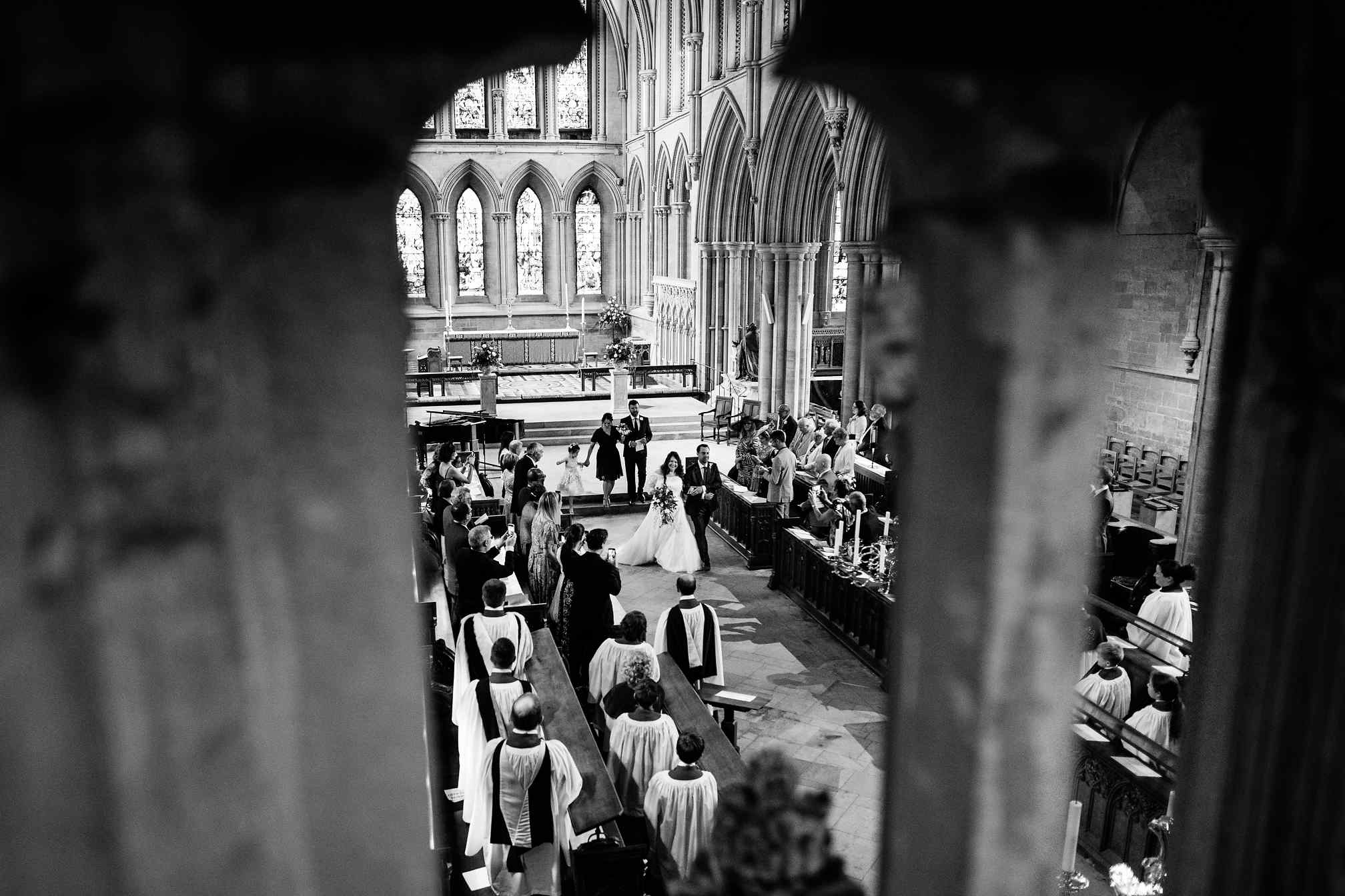 Southwell Minster Wedding Photographer