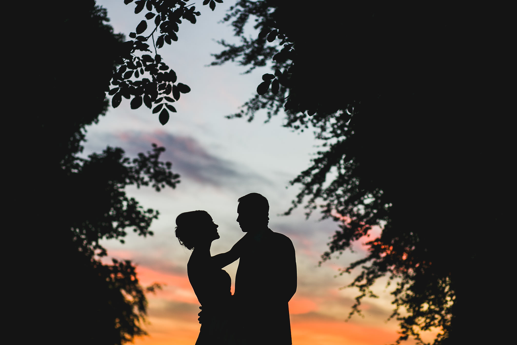 MyWed Editors Choice - Sunset Portrait at Rushton Hall