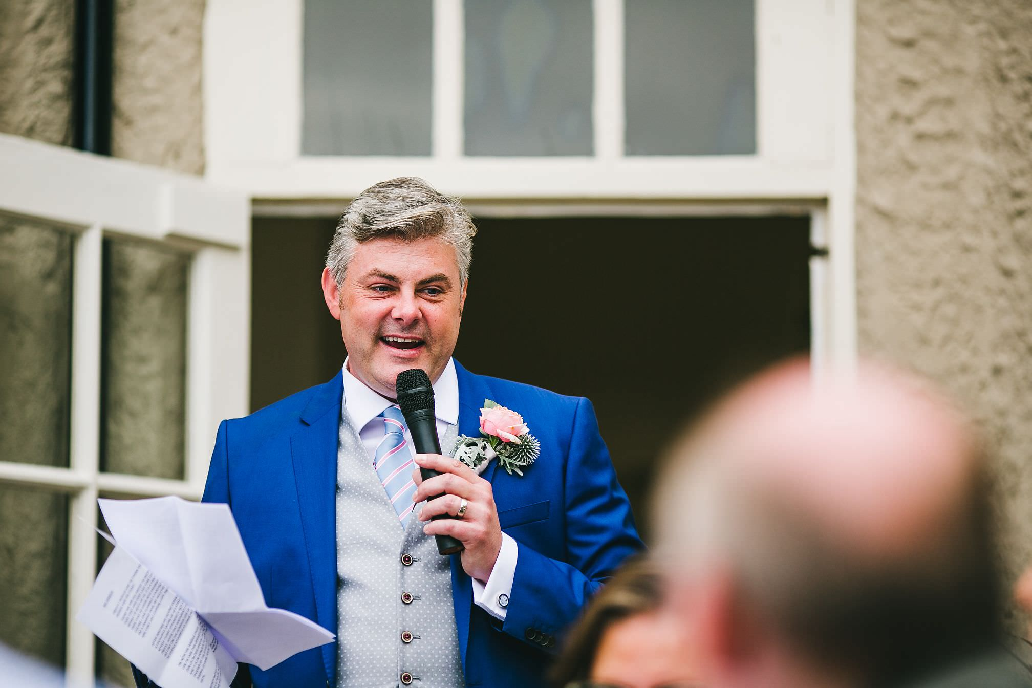 Grooms Speech - That Amazing Place