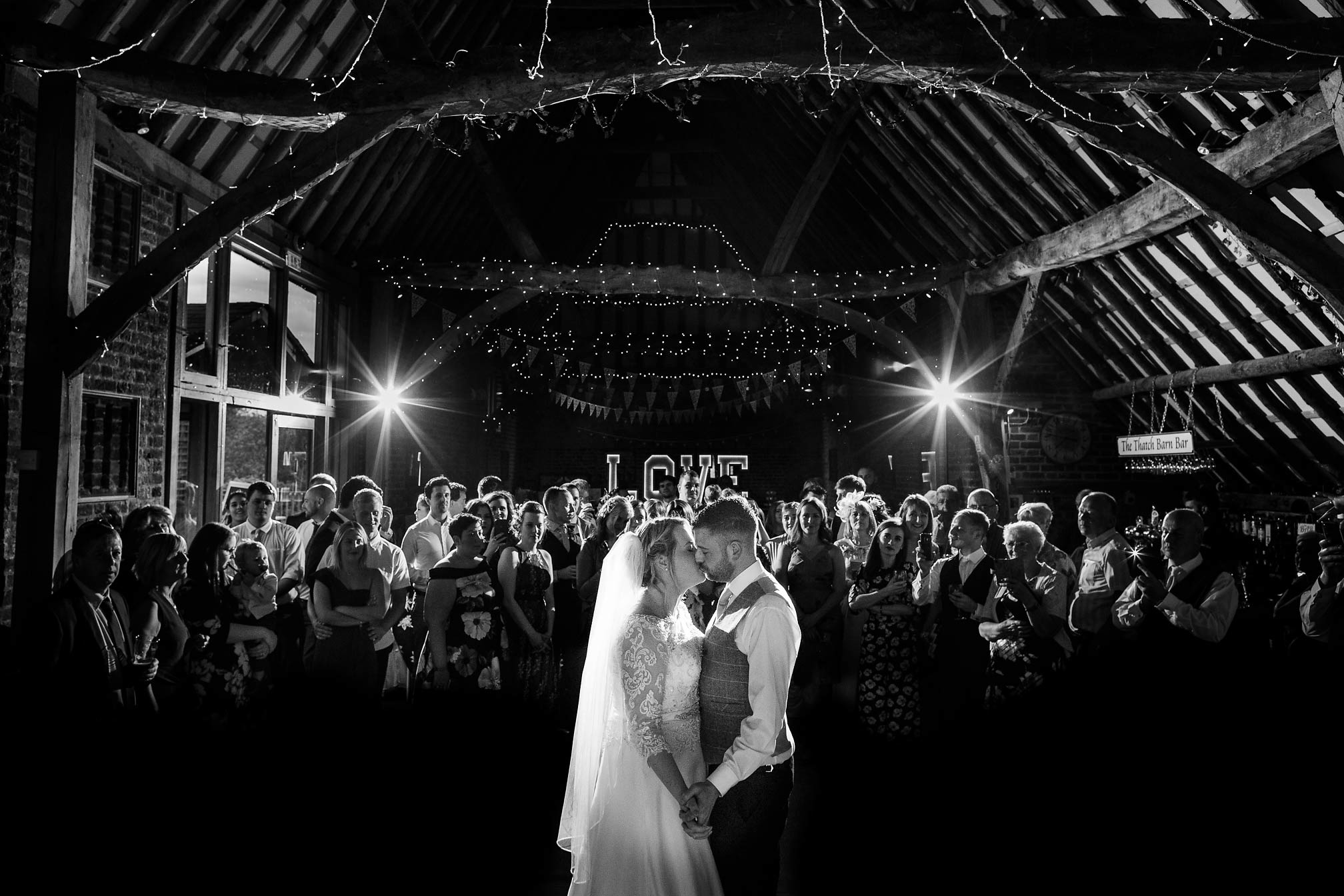 First Dance at The Thatch Barn