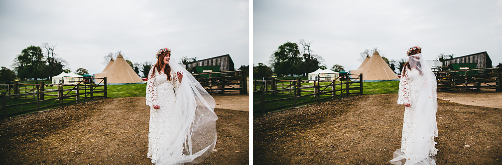 Northants Tipi Wedding