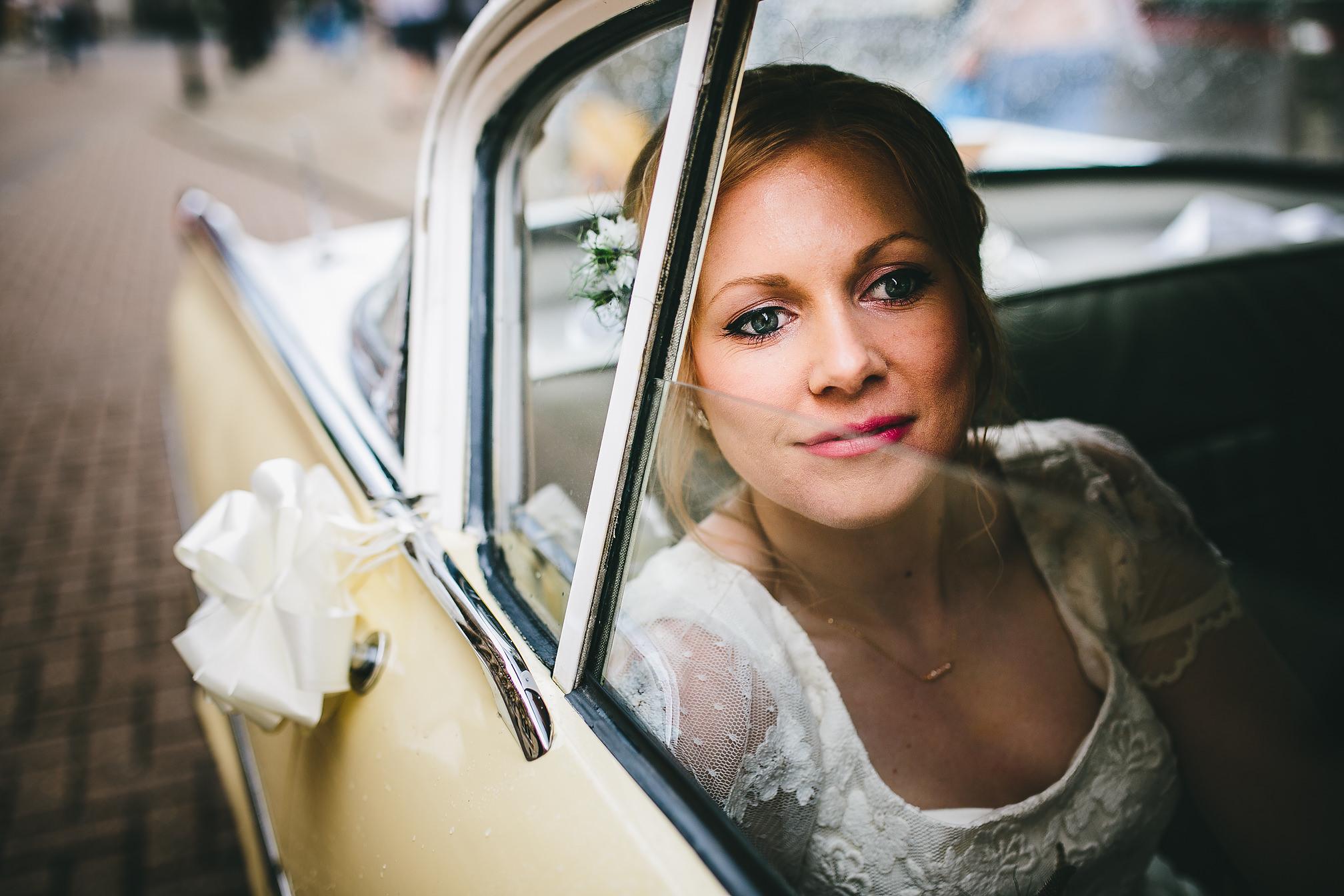 Vauxhall Velox Bridal Portrait