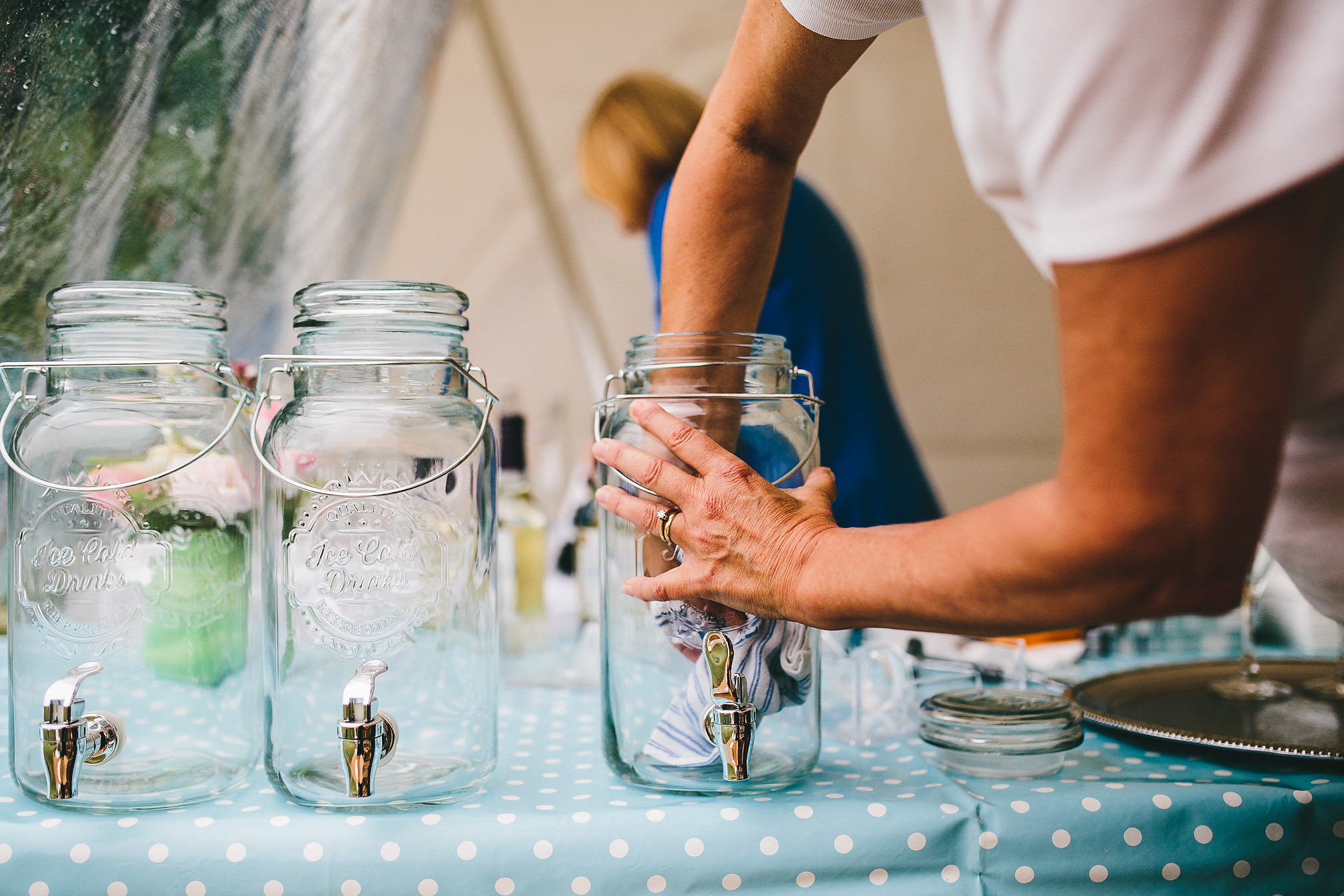 Vintage Wedding Jam Jars