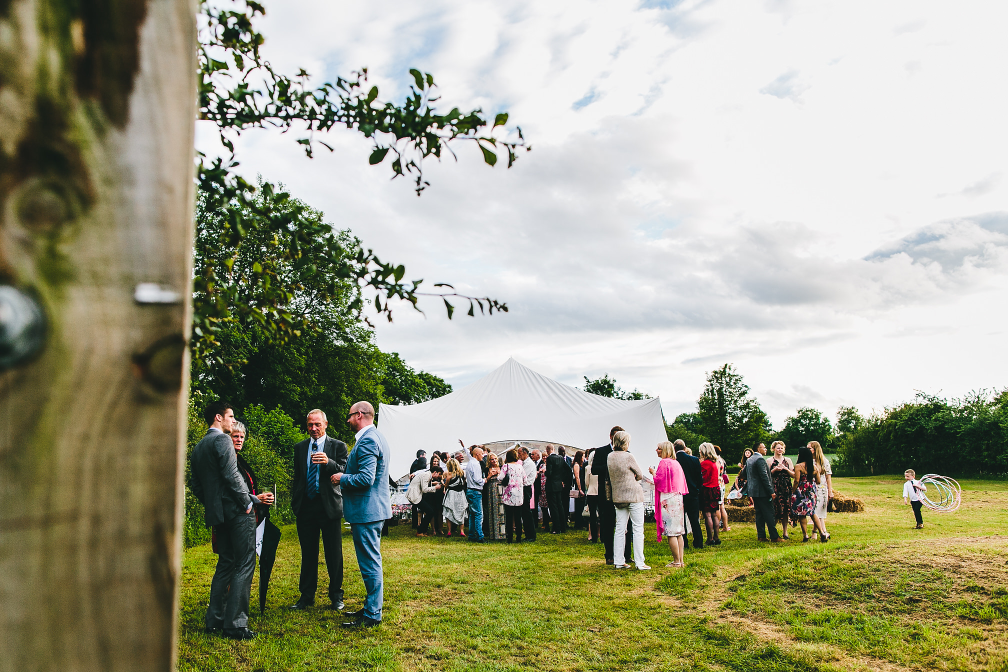 Northants Tent Wedding
