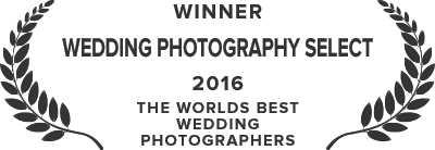 Wedding Photography Select Award - 2016