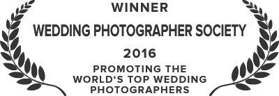 Wedding Photography Society Award - 2016
