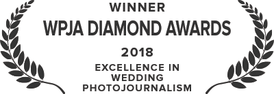 The Wedding Photojournalist Association, Diamond Award - 2018