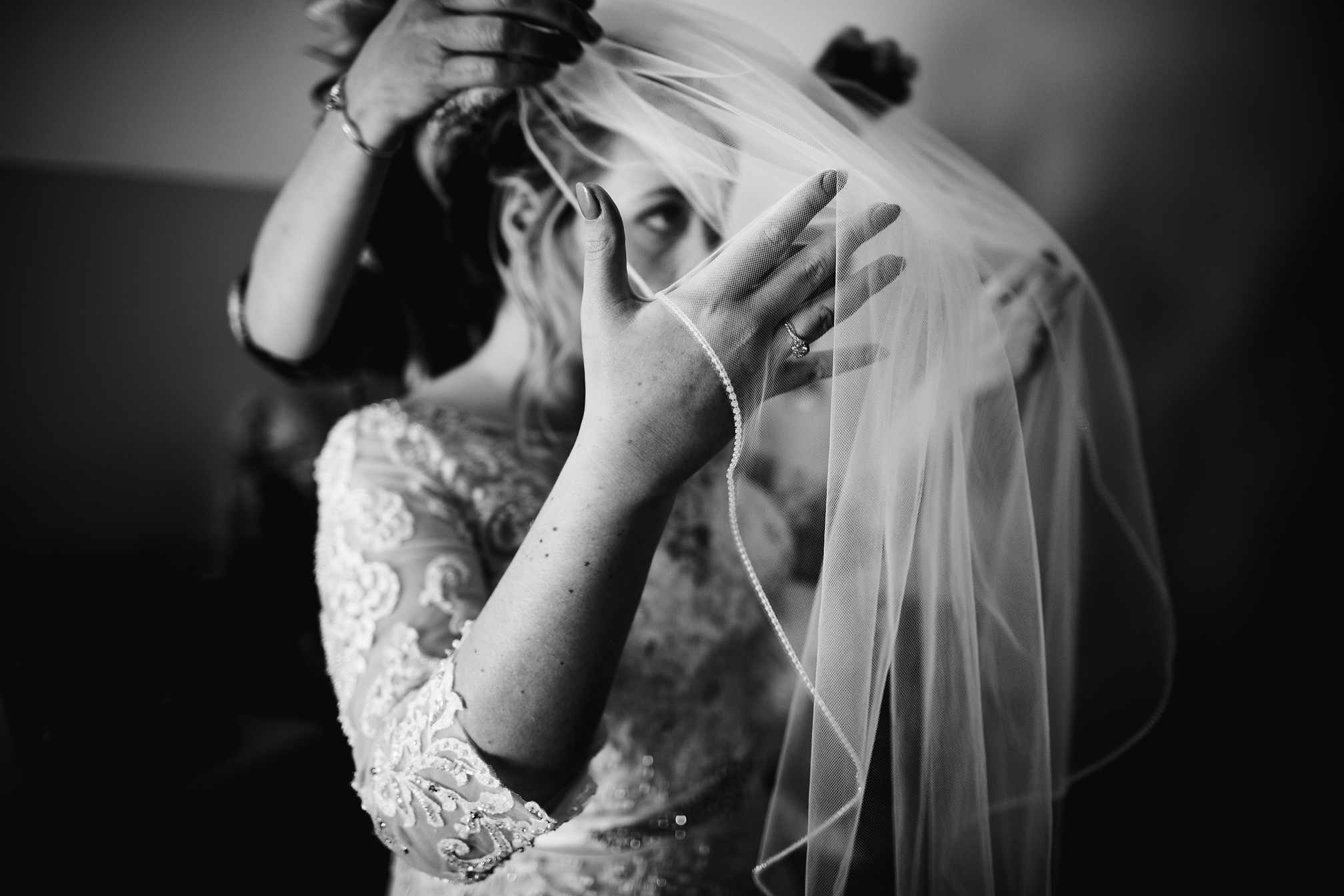 Wedding Veil Details