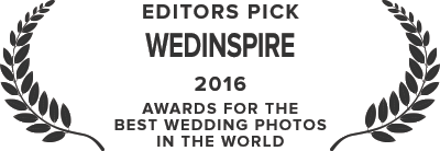 WedInspire Editors Pick - 2016