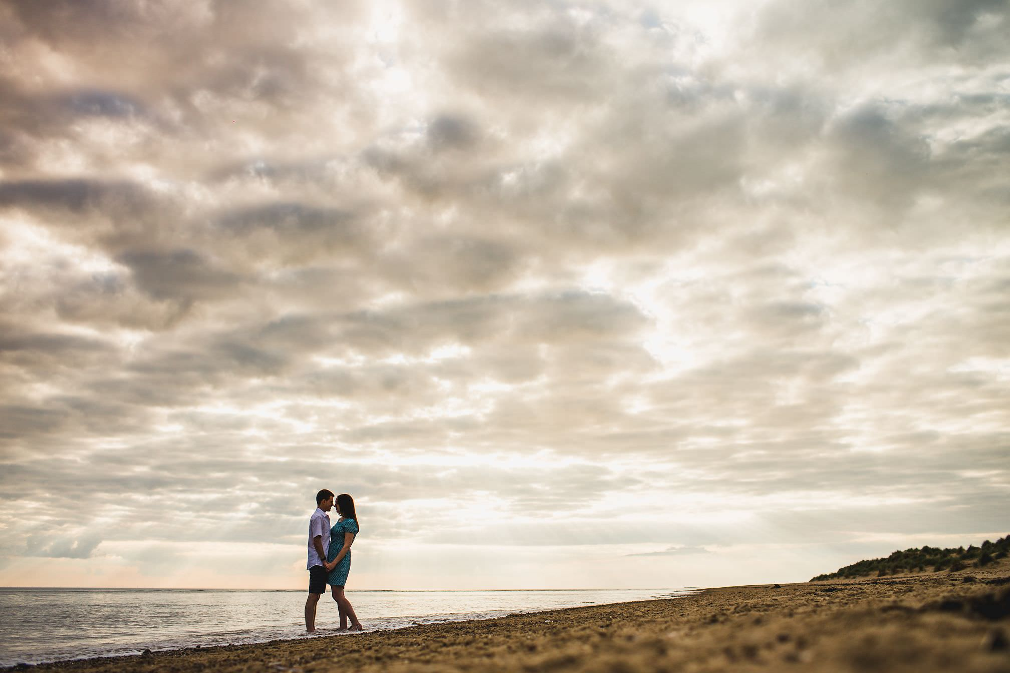 Young Couple at Wells-next-the-Sea