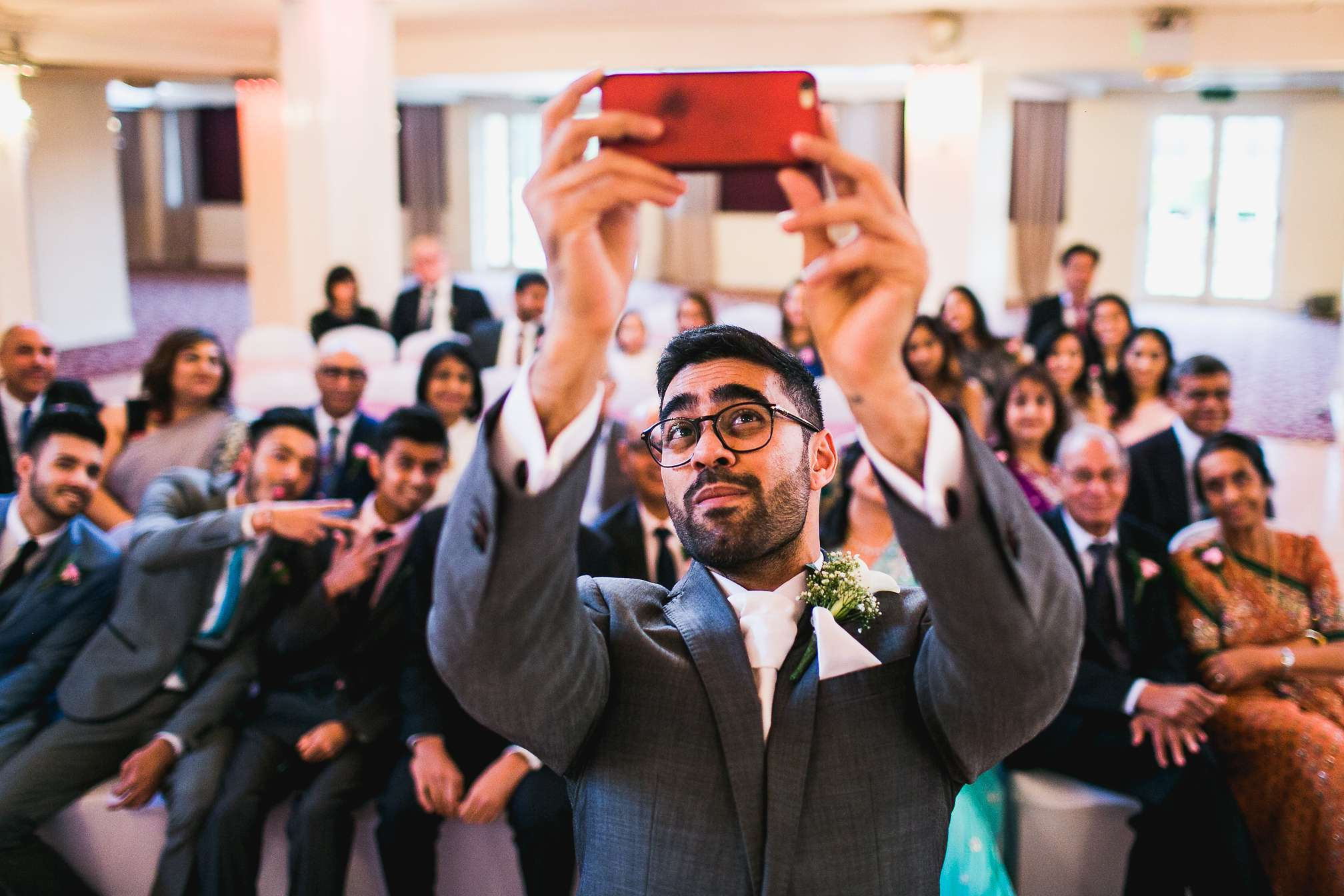 Wicksteed Park, Northamptonshire - Indian wedding selfie Shot