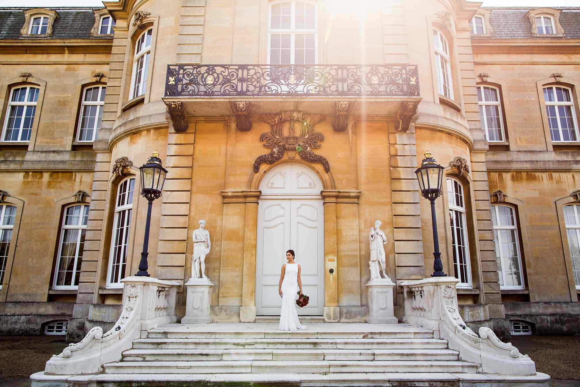 Wrest Park, Bridal Portrait